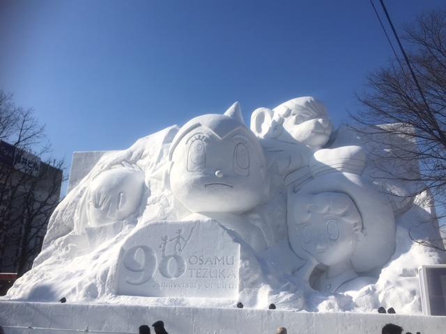 札幌雪祭り(西10丁目東側)